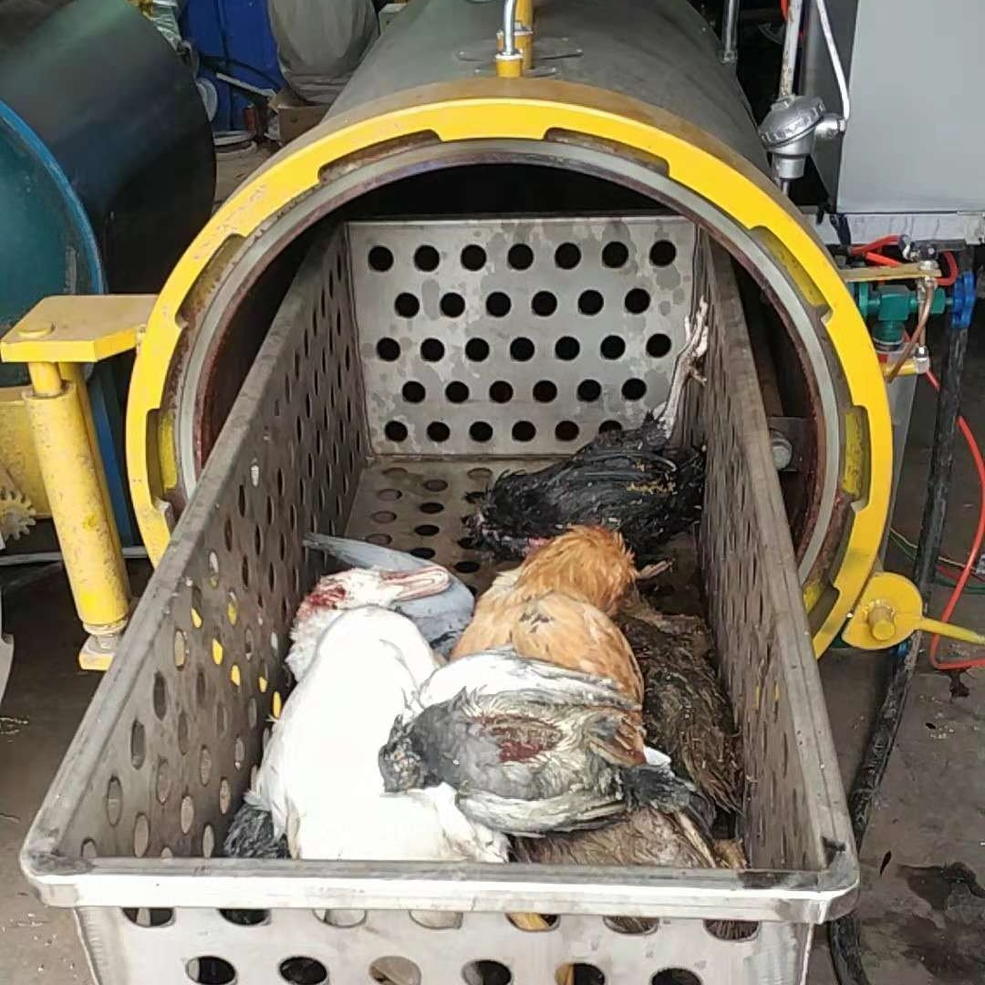 <b>沈阳养殖企业无害化处理设备安装现场</b>