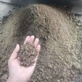 五得利集团小麦下脚料处理现场